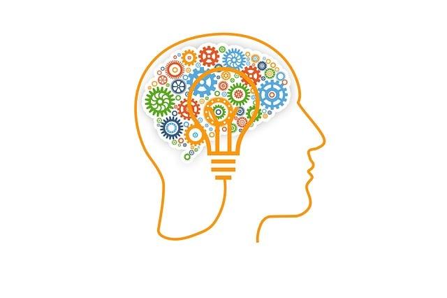 Brain, Gears, Concept, Skull, Idea, Light Bulb, Male