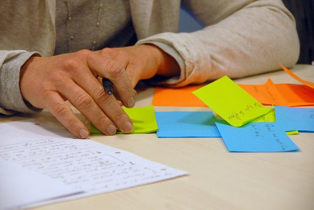 Brainstorming, Business, Professional, Post-it