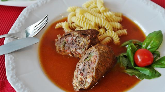 Roulades, Beef Roulades, Meat Rolls, Meat, Braising