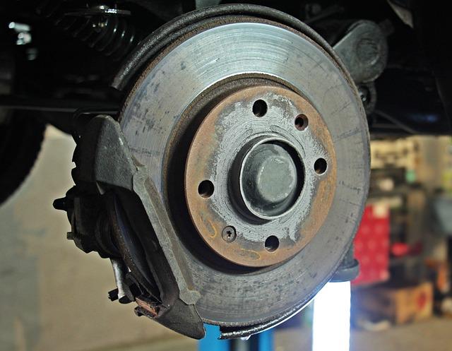 Auto Repair, Workshop, Brake Disc, Brake, Change
