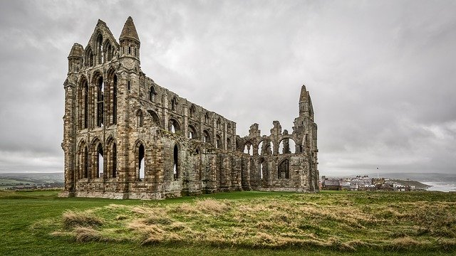 Whitby Abbey, Dracula, Bram Stoker, Haunted, Ruin