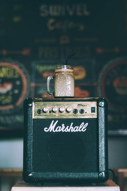 Amplifier, Brand, Classic, Container, Drink, Marshall