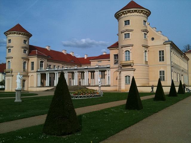 Castle, Rheinsberg, Brandenbrurg, Schlossgarten