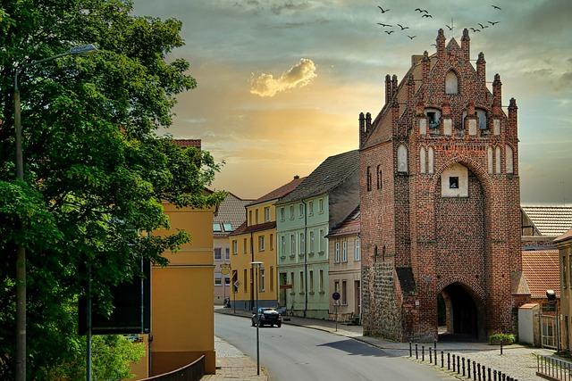 Mühlentor, Templin, Uckermark, Brandenburg, Travel