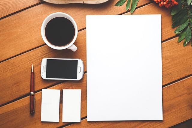 Business, Branding, Blank, Paper, Business Card