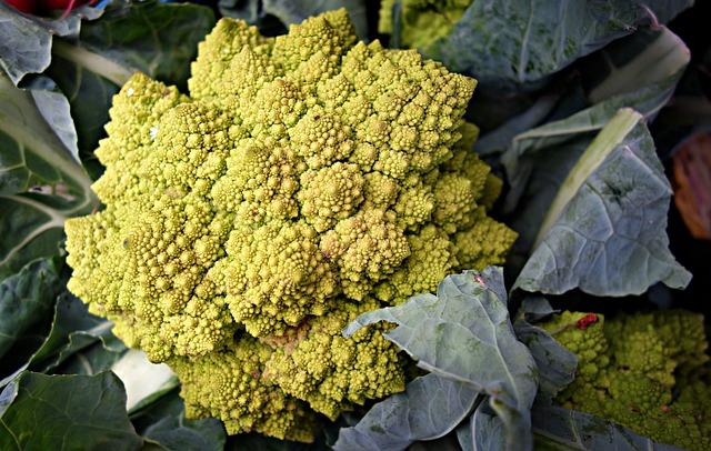 Roman Cauliflower, Cauliflower, Brassica Oleracea