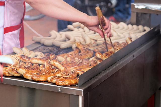 Grill, Bratwurst, Barbecue, Heat, Grill Sausage, Meat