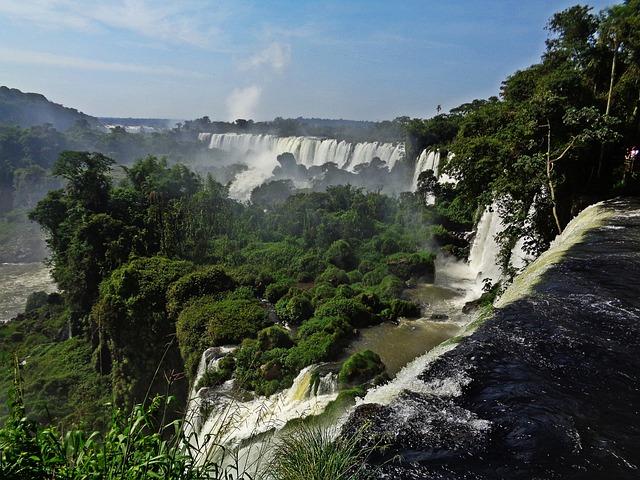 Cataratas Do Iguaçu, Brazil, Waterfall, River