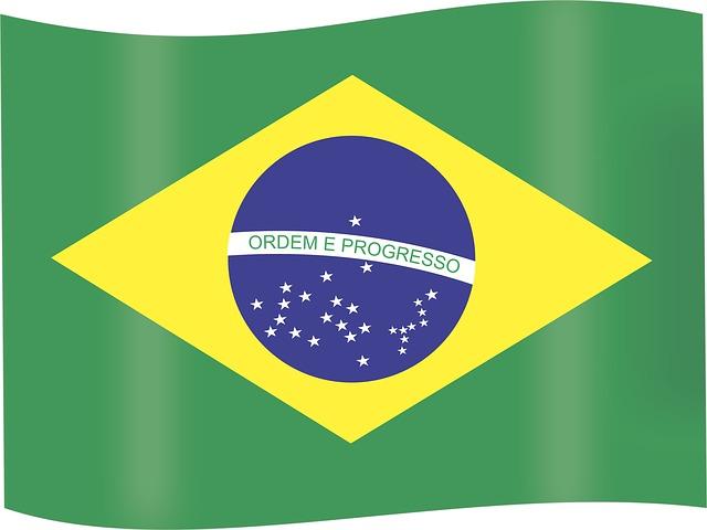 Flag Of Brazil, Brazil, Brasilia, Green And Yellow