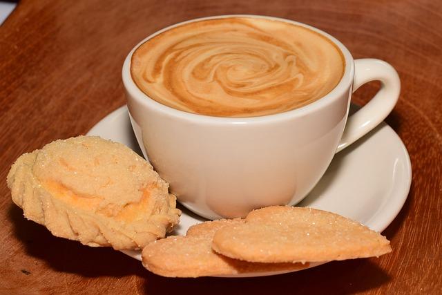 Coffee, Bread, Cup, Food, Breakfast, Morning