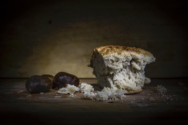 Bread, Light Painting, Still Life, Food, Autumn