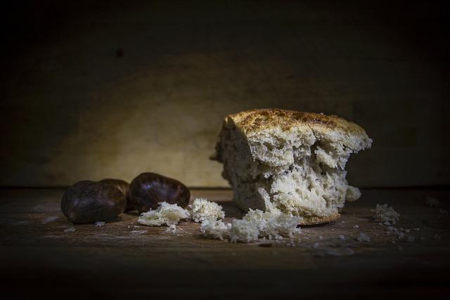 Bread, Light Painting, Still Life, Food, Autumn