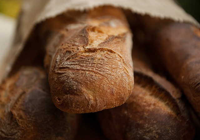 Bread, Stick, Boulanger, Bakery