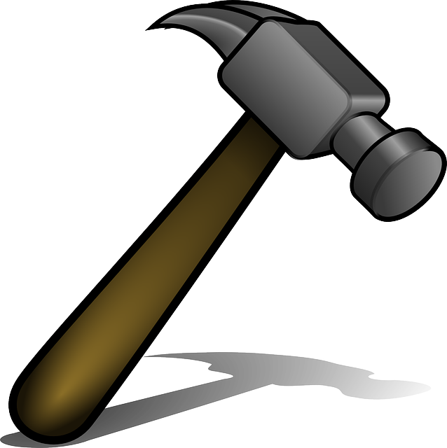 Hammer, Tool, Metal, Hit, Break, Carpentry, Equipment