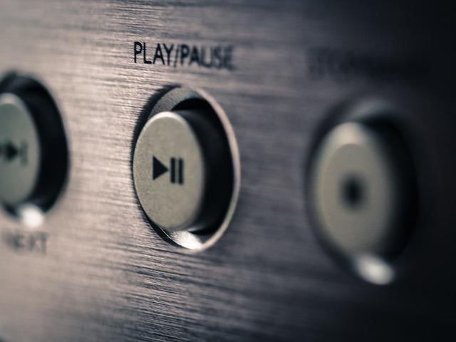 Plant, Music, Play, Break, Cd Player, Music System