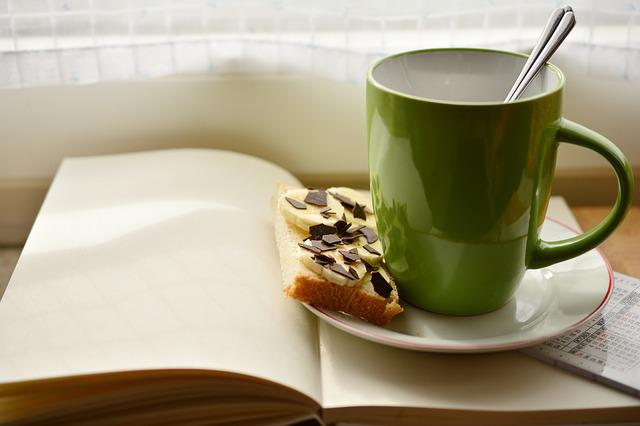 Cup, Book, Breakfast, Read, Plan, Coffee Cup