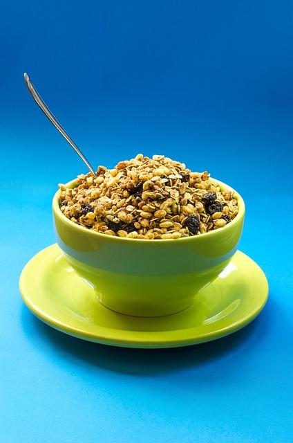 Bowl, Breakfast, Close-up, Diet, Food, Granola, Healthy
