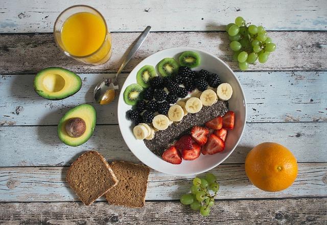 Avocado, Breakfast, Bread, Food, Fruits, Orange, Rustic