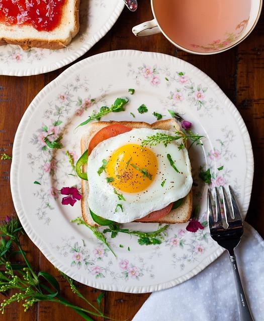 Bread, Egg, Breakfast, Delicious, Food, Food Plating