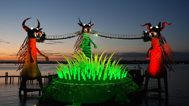 Lake Stage, Bregenz, The Magic Flute, Art, Decoration