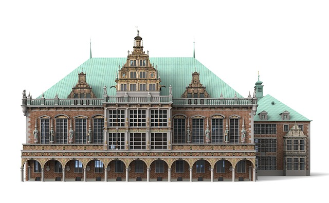 Bremen, Town Hall, Dome, Architecture, Building, Church
