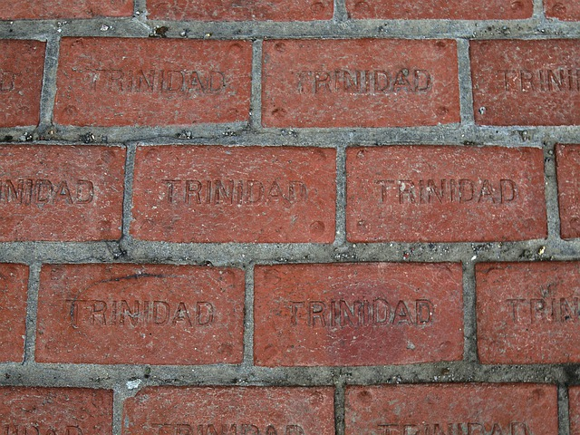 Trinidad, Colorado, Unsa, Brick, Ground, Red