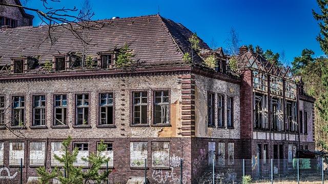 Old, Home, Building, Window, Brick, Break Up, Ruin