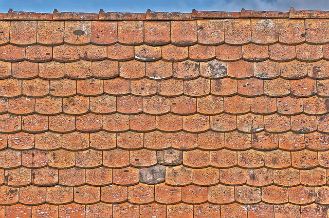 Roof, Tile, Old, Pattern, Brick, Texture, Tile Roof