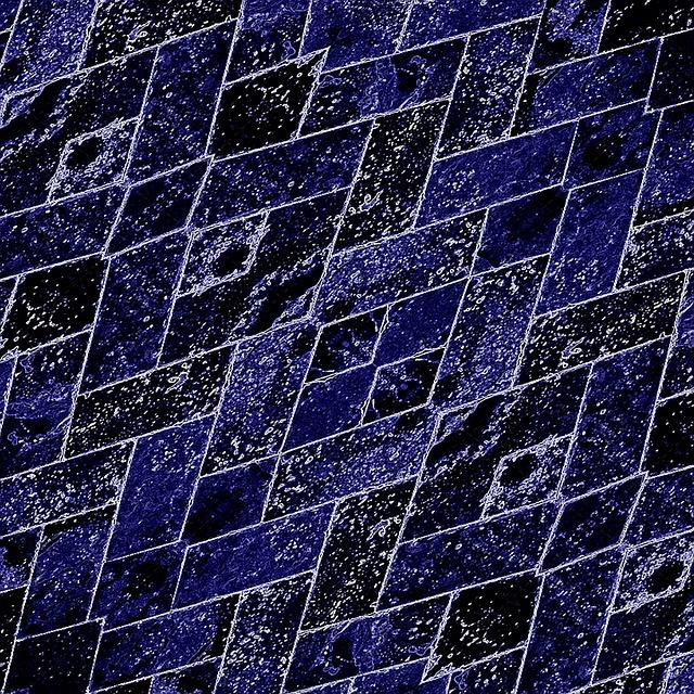 Texture, Surface, Diagonal, Neon, Electric, Blue, Brick