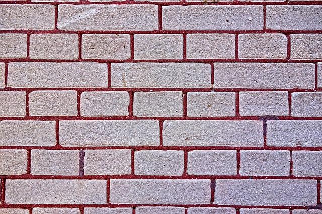 Brick Wall, Wall, Brick, Masonry, Seams, Cement