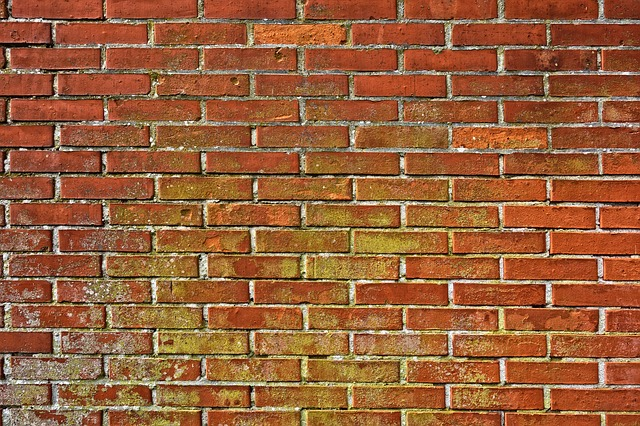Brick Wall, Wall, Masonry, Brickwork, Red Brick Wall