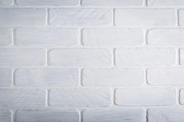 Texture, Brick, Wall, White, Paint, Pattern, Brick Wall