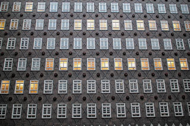 Hamburg, Building, Window, Brick, Chile-house