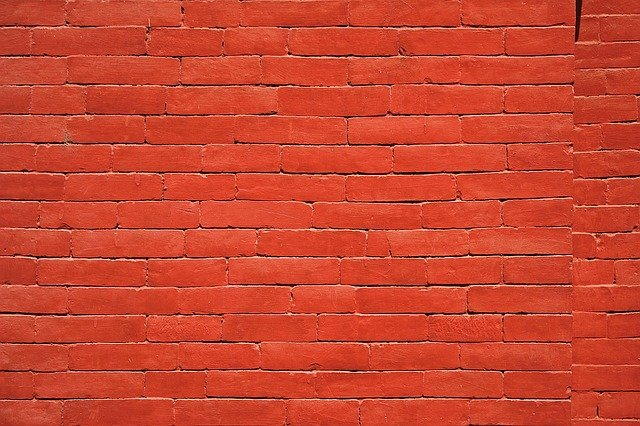 Brick Wall, Wall, Red, Bricks, Architecture, Pattern