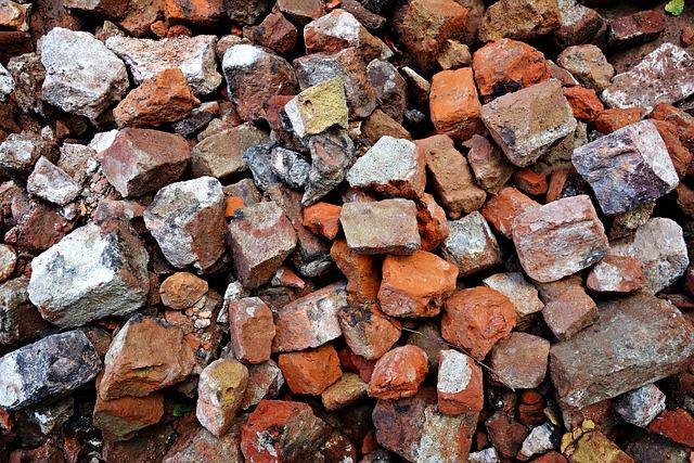 Stones, Bricks, Blocks, Material, Construction Work