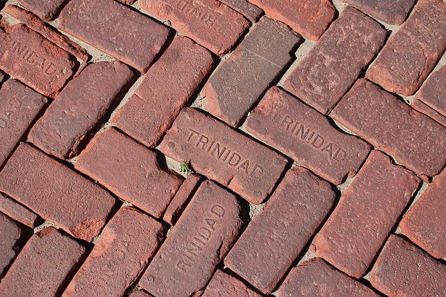 Bricks, Trinidad, Colorado, Historical, Street