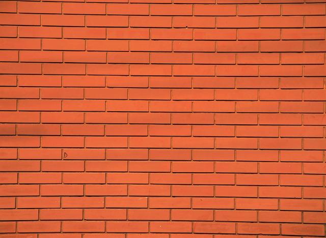 Facade, Bricks, Brick Facade, Texture