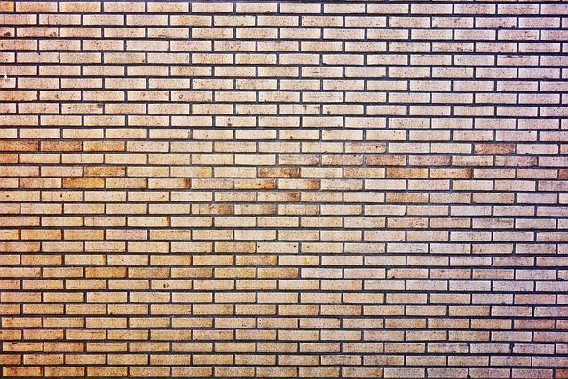 Brick Wall, Wall, Brickwork, Masonry, Mortar, Seam