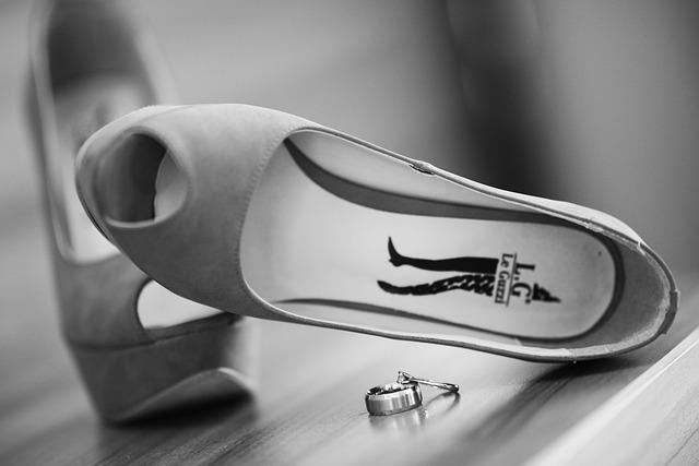 Bridal, Wedding, Shoes, Marriage, Double, Bride Groom