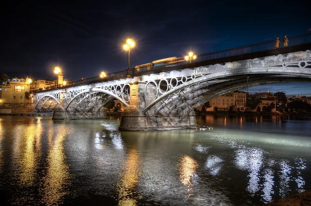 Triana, Bridge, Seville, City, Andalusia, Architecture