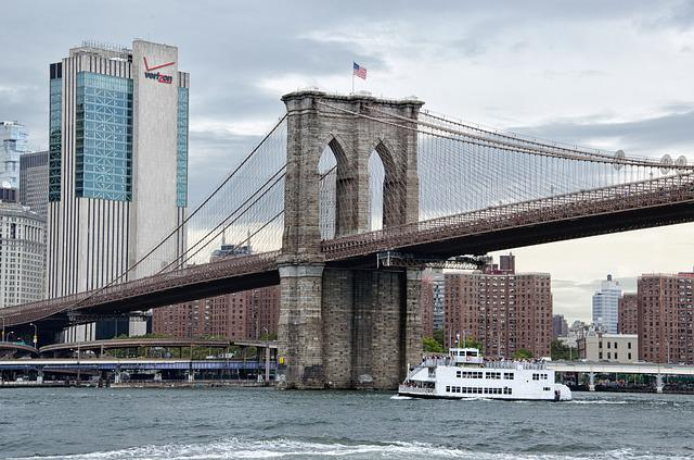 Bridge, Architecture, City, River, Travel