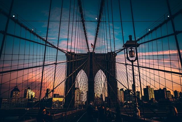 Architecture, Suspension Bridge, Bridge, Travel