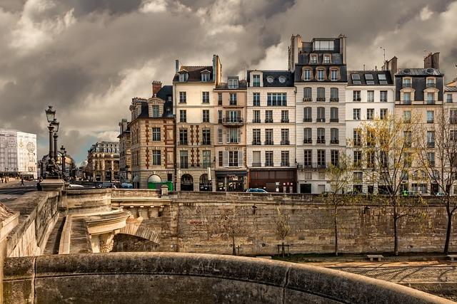 Paris, Seine, Bridge, City, France, Travel