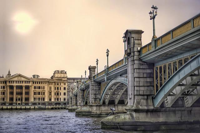 Architecture, Travel, Bridge, City, River