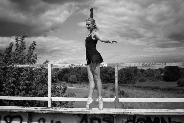 Ballet, Dance, Ballerina, Bridge, Nature