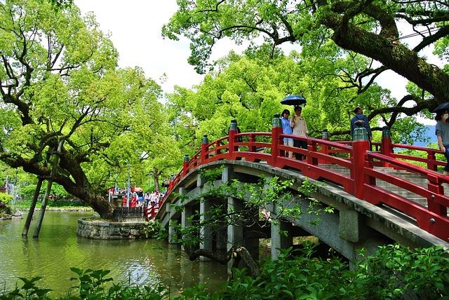 Bridge, Dazaifu, Fukuoka