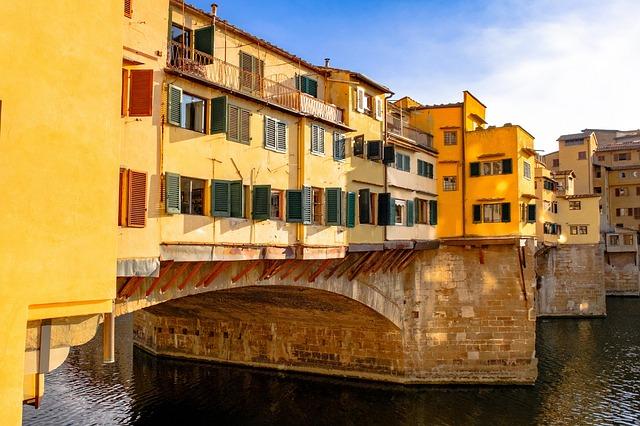 Ponte Vecchio, Bridge, Ponte, Florence, Architecture