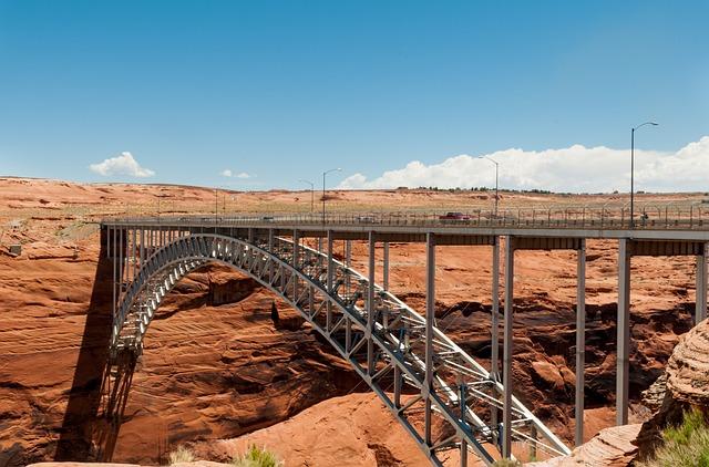 Bridge, Glen Canyon, Modern Constraction