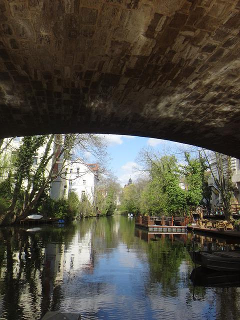 River, Braunschweig, Bridge, Oker, Nature, Water, Web