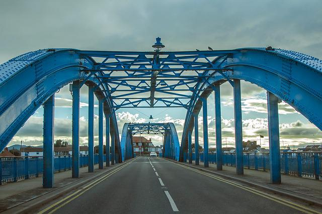 Bridge, Wales, Path, England